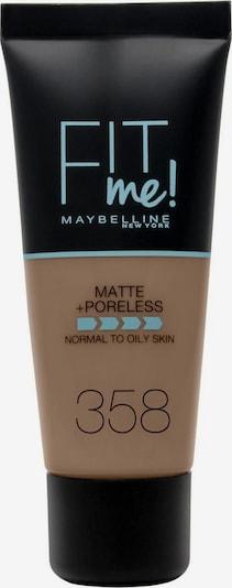 MAYBELLINE New York Foundation 'Fit me! Matte+Poreless' in braun, Produktansicht