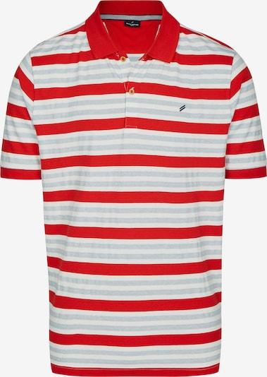 DANIEL HECHTER Poloshirt in blau / rot / weiß, Produktansicht