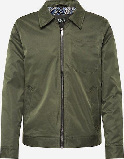 BURTON MENSWEAR LONDON Tussenjas '1904 Dover Wadded Harrington' in de kleur Groen, Productweergave