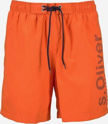 Shorts de bain s.Oliver en orange