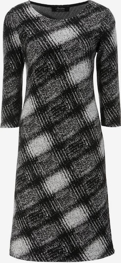 Aniston SELECTED Kleid in grau / schwarz / weiß, Produktansicht