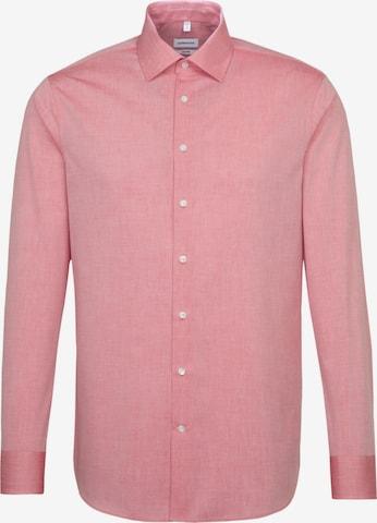 SEIDENSTICKER Hemd in Rot