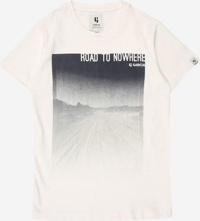 Tricou GARCIA pe alb, Vizualizare produs