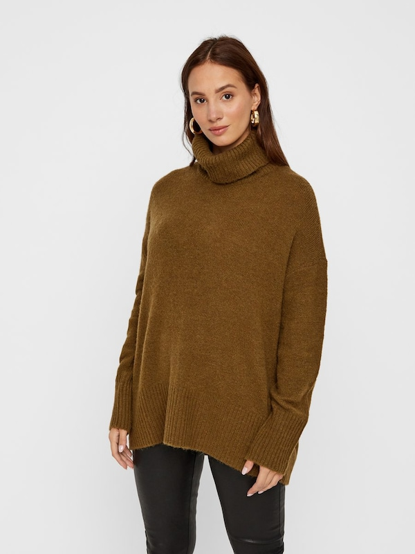 Y.A.S Pullover in chamois, Modelansicht