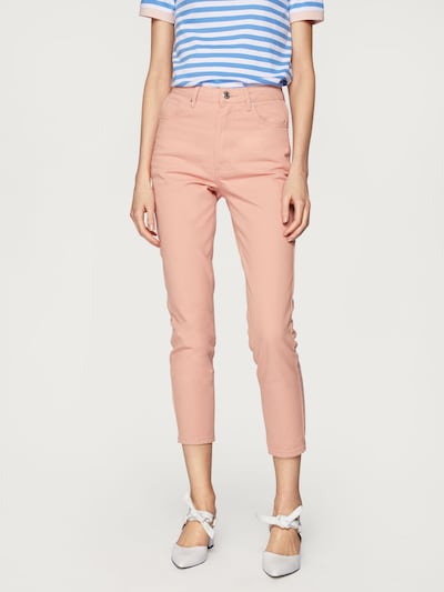EDITED Jeans 'Lindsey' in rosa: Frontalansicht