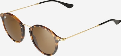 Ray-Ban Sonnenbrille '0RB2447' in braun / gold, Produktansicht