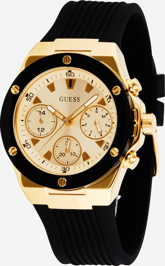 Analoginis (įprasto dizaino) laikrodis 'Athena' iš GUESS , spalva - Auksas / juoda, Prekių apžvalga