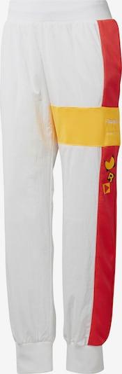 Reebok Classic Hosen 'Gigi Track Pants' in gelb / dunkelorange / schwarz / weiß, Produktansicht