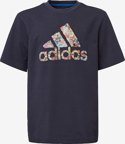 ADIDAS PERFORMANCE Shirt 'B Art Tee' in blau / mischfarben, Produktansicht