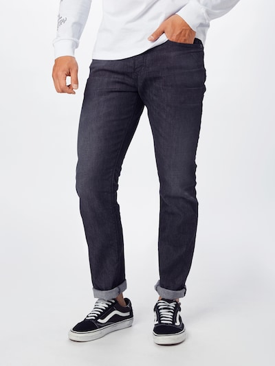DIESEL Jeans 'Buster' in grey denim, Modelansicht