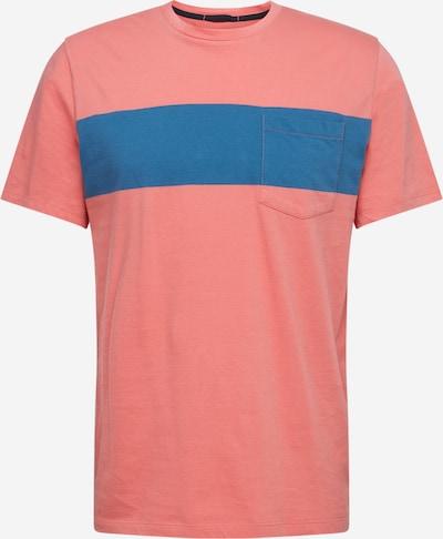 Dockers T-Shirt en bleu / rouge, Vue avec produit
