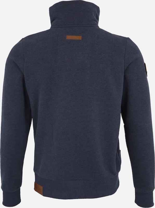 naketano Sweatshirt 'Du Affenmensch' in nachtblau | ABOUT YOU