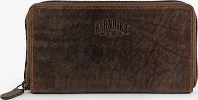 KLONDIKE 1896 Geldbörse 'Scarlett' in dunkelbraun, Produktansicht