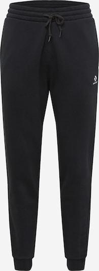 Pantaloni CONVERSE pe negru / alb, Vizualizare produs