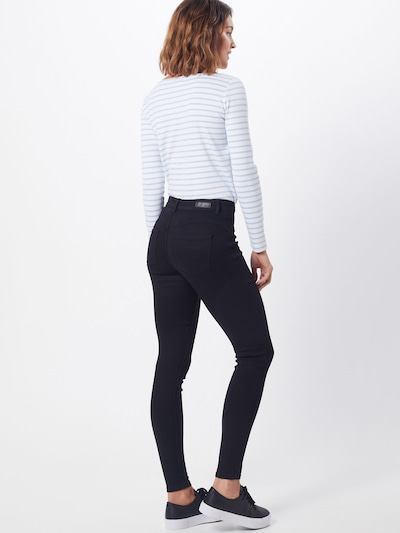 PIECES Jeans in schwarz: Rückansicht