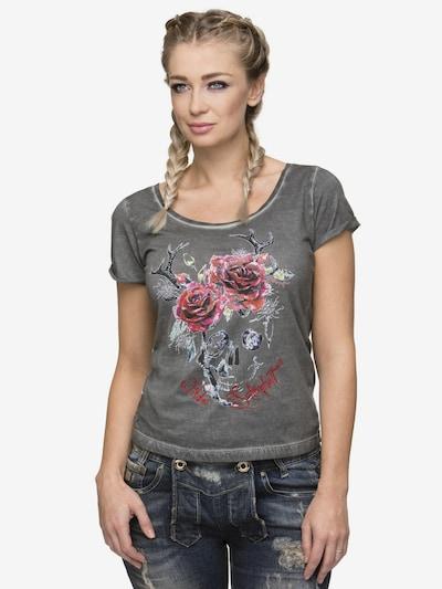 STOCKERPOINT Shirt Gracy in graumeliert / mischfarben: Frontalansicht
