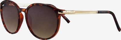 ZIPPO Sonnenbrille Brown 'Flash Leopard mixed' in braun, Produktansicht