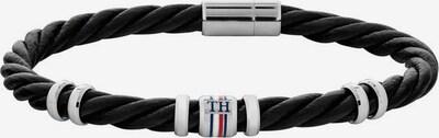 TOMMY HILFIGER Armband in schwarz / weiß, Produktansicht