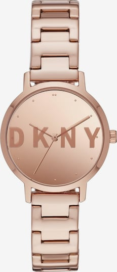 DKNY Uhr in gold: Frontalansicht