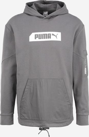 szürke / sötétszürke PUMA Sportpulóverek 'NU-TILITY', Termék nézet