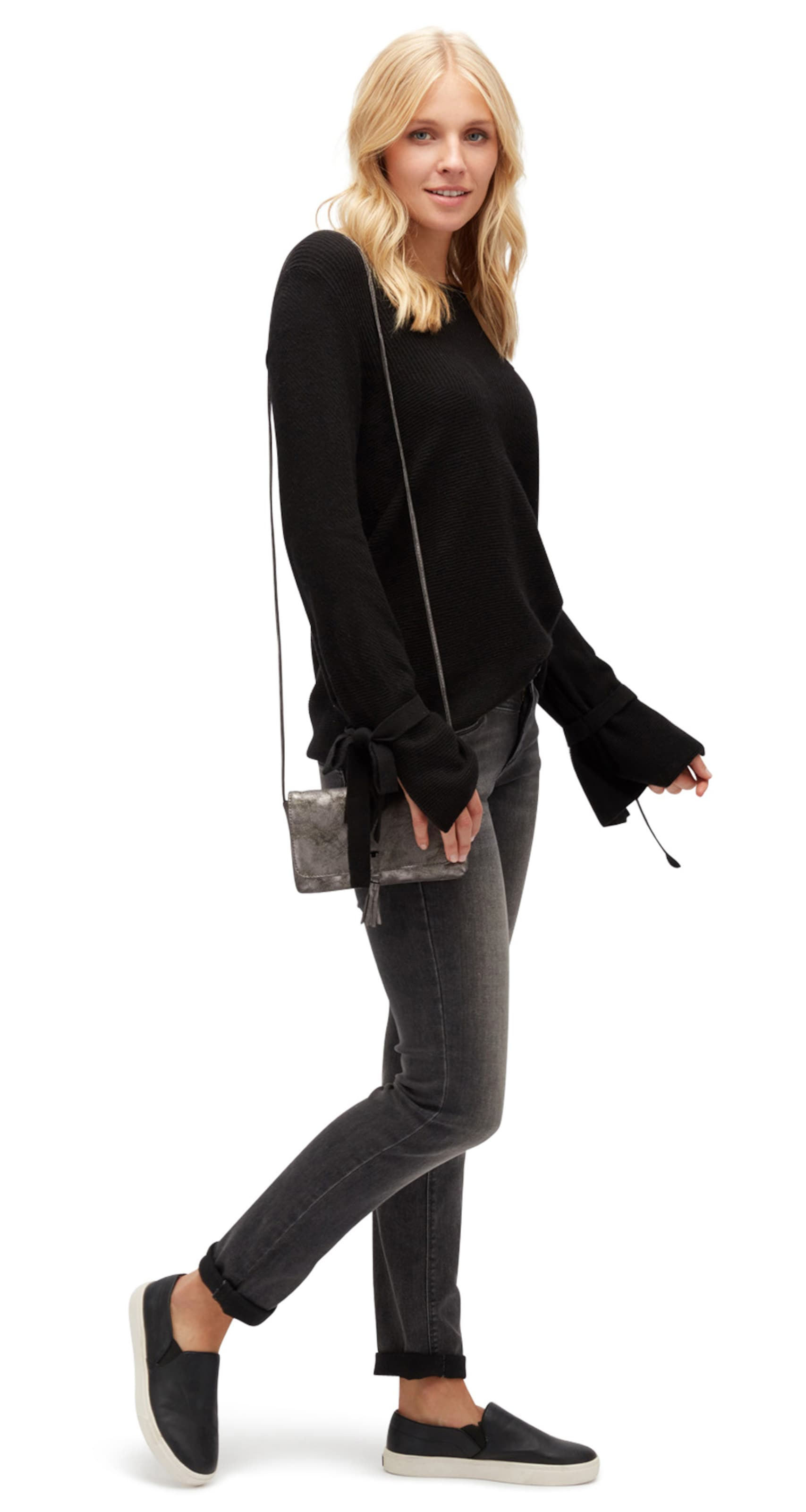 Spielraum Beruf TOM TAILOR knit Pullover mit Bindeband am Ärmel Billig Verkauf Rabatte Günstig Kaufen 2018 Unisex Zuverlässig CCj3fsa