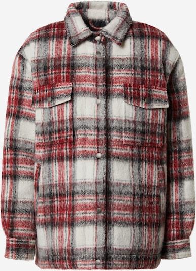 Pepe Jeans Jacke 'Runa' in rot / schwarz / weiß, Produktansicht
