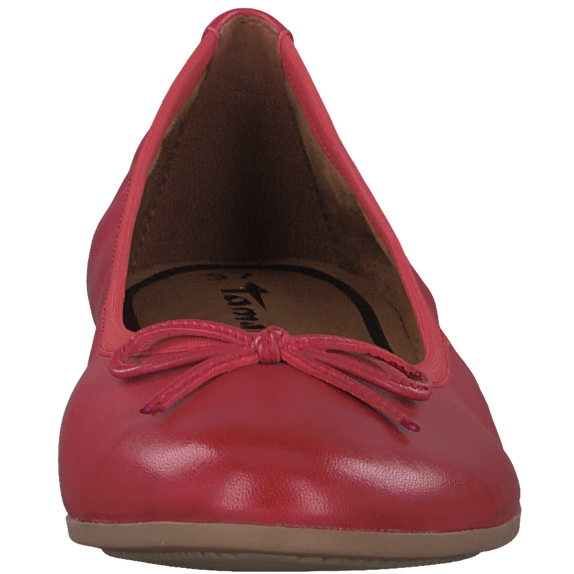 Ballerina Tamaris Rot In Rot Tamaris In Ballerina Tamaris tCQdshrx