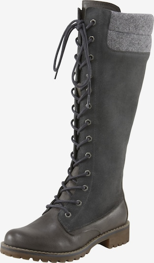 heine Lace-up boot in Grey, Item view