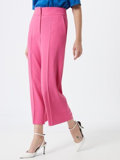 HUGO Bügelfaltenhose 'Halasa' in pink, Modelansicht
