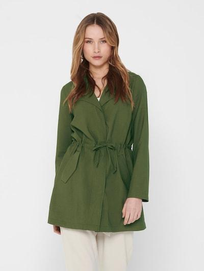 ONLY Płaszcz przejściowy 'ONLSILLE DRAPY JACKET OTW' w kolorze khakim, Podgląd na modelu(-ce)