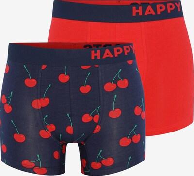 Happy Shorts Retroshorts ' Trunks ' in dunkelblau / kirschrot, Produktansicht