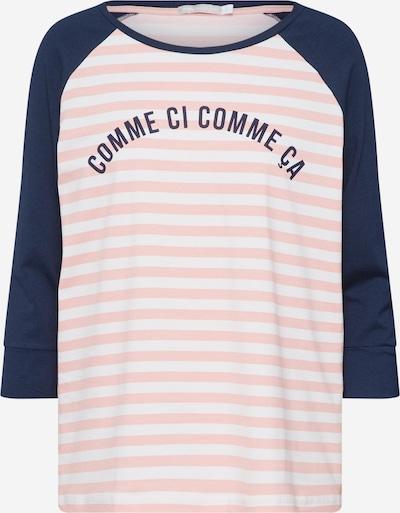 Mey Shirt in dunkelblau / rosa / weiß, Produktansicht