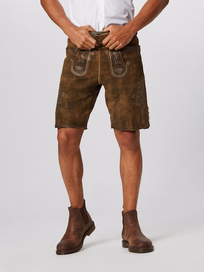 MARJO Shorts in braun: Frontalansicht