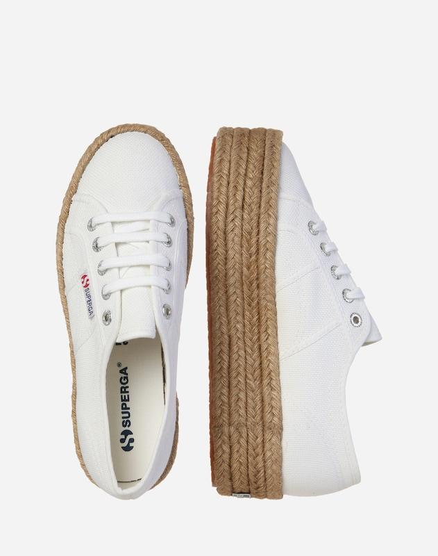 SUPERGA Sneaker '2790 - COTROPEW' mit Jute-Plateau
