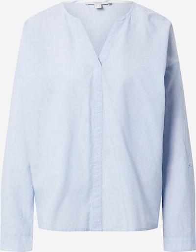 ESPRIT Bluza 'Chambray' | svetlo modra barva, Prikaz izdelka