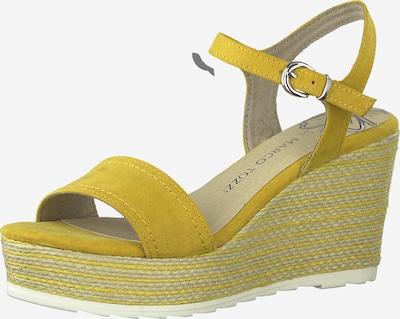 MARCO TOZZI Sandale in gelb, Produktansicht