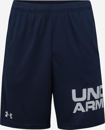 Pantaloni sport UNDER ARMOUR pe albastru închis / gri, Vizualizare produs