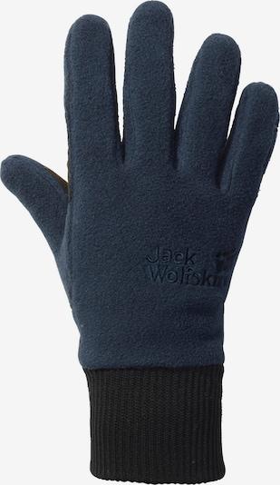 JACK WOLFSKIN Fleecehandschuhe 'Vertigo' in marine / schwarz, Produktansicht