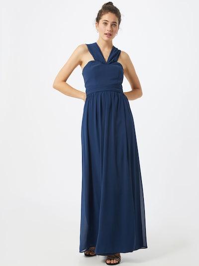 Chi Chi London Abendkleid in navy, Modelansicht