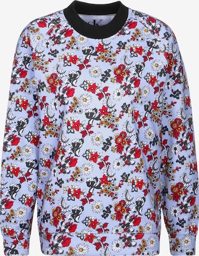 Calvin Klein Sweatshirt 'Hatta Flower AOP HWK' in hellblau / mischfarben, Produktansicht
