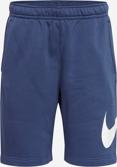 Nike Sportswear Broek 'Club Gx' in de kleur Navy / Wit, Productweergave