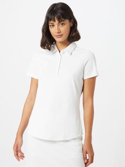 adidas Golf Shirt in weiß: Frontalansicht