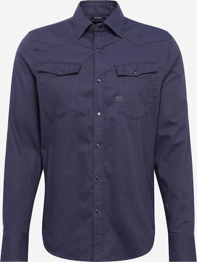 G-Star RAW Poslovna srajca '3301 slim shirt l\s' | temno modra barva, Prikaz izdelka