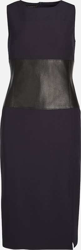 APART Etuikleid mit Größeneinsatz in nachtblau   schwarz  Mode neue Kleidung