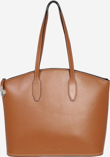 Calvin Klein Shopper torba 'LOCK DOMED SHOPPER' u smeđa, Pregled proizvoda