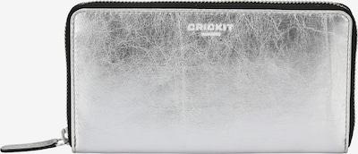 Crickit Portemonnaie 'Cassia' in silber, Produktansicht