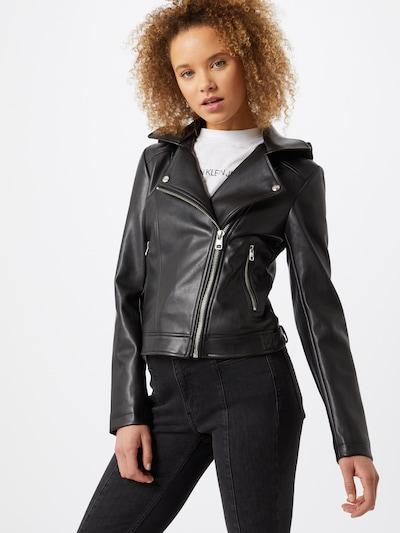Calvin Klein Jeans Jacke in schwarz, Modelansicht