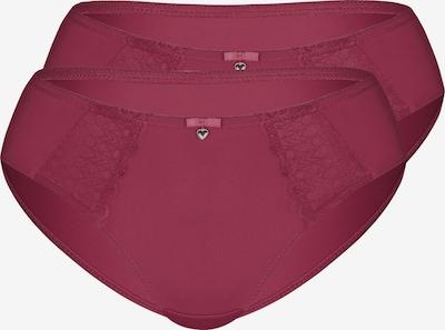 sassa Slip 'LOVELY SECRET' 2er Pack in cranberry, Produktansicht