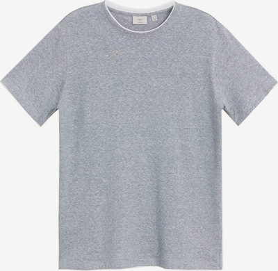 MANGO MAN T-Shirt 'CAMISETA SATURDAY' en gris basalte, Vue avec produit
