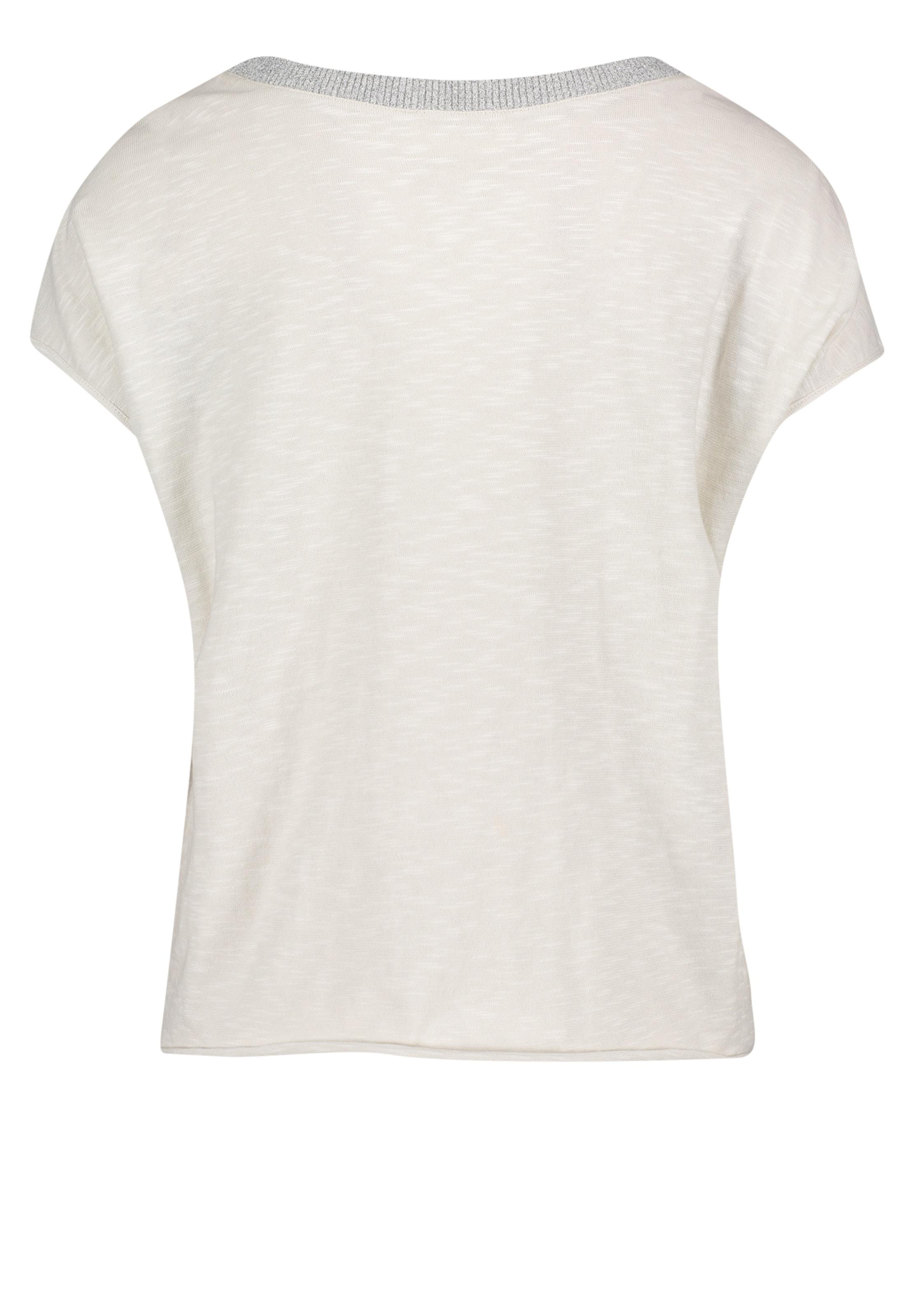 shirt SilberWeißmeliert shirt Casual In Casual Cartoon SilberWeißmeliert In Cartoon lKJFT1c